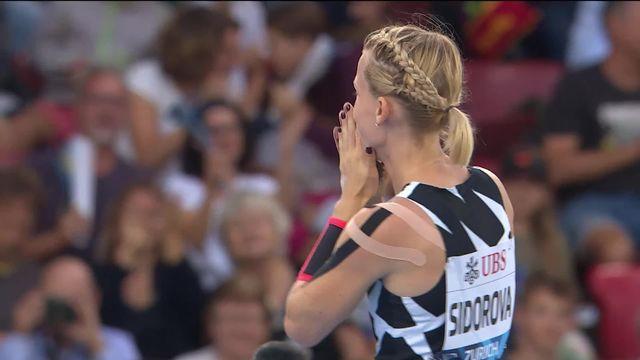 Finale, saut à la perche dames: Sidorova (RUS) remporte le titre avec un saut à 5.01 [RTS]