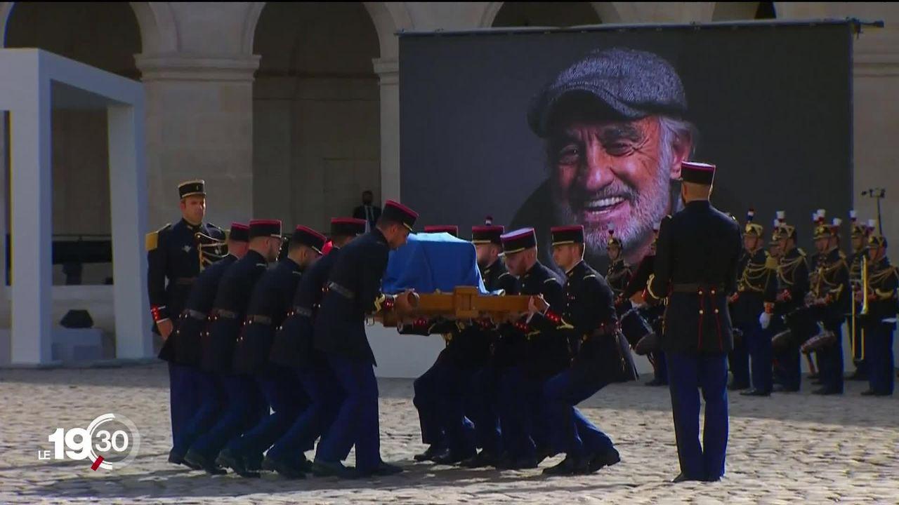 La France fait ses adieux à Jean-Paul Belmondo. [RTS]