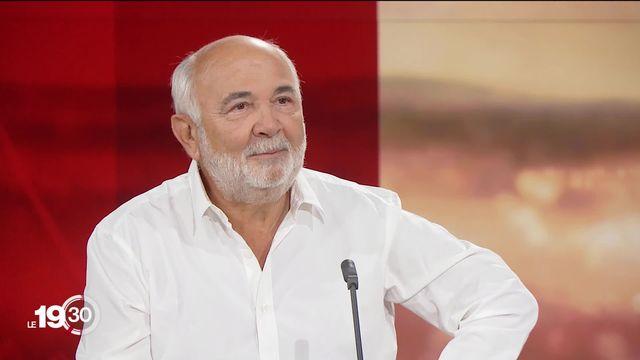 Gérard Jugnot est l'invité du 19:30 [RTS]
