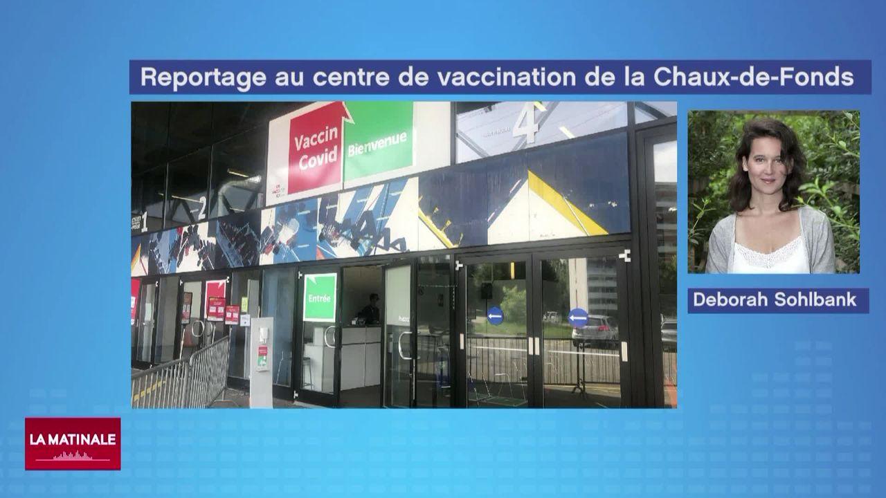 L'extension du certificat Covid engendre une nette augmentation des vaccinations (vidéo) [RTS]