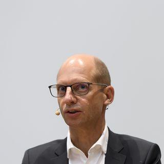 Philippe Eckert, directeur général du CHUV. [Anthony Anex - Keystone]