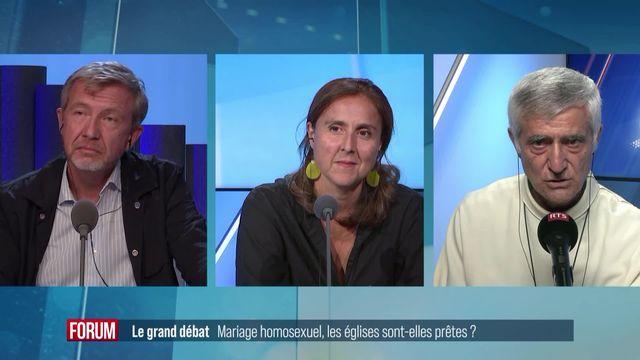 Le grand débat - Mariage pour tous: les Eglises sont-elles prêtes? (vidéo) [RTS]