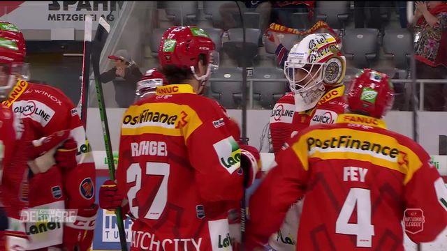 National League, 2e journée: Bienne - Lausanne (3-2) [RTS]