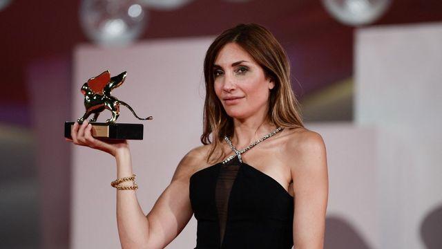 La Française Audrey Diwan a remporté le Lion d'Or à la Mostra de Venise. [Filippo Monteforte - AFP]