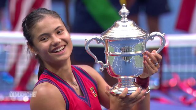 Tennis: L'incroyable parcours d'Emma Raducanu, vainqueure de l'US Open [RTS]
