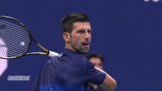 Tennis: Djokovic en passe de devenir le plus grand joueur de l'histoire [RTS]