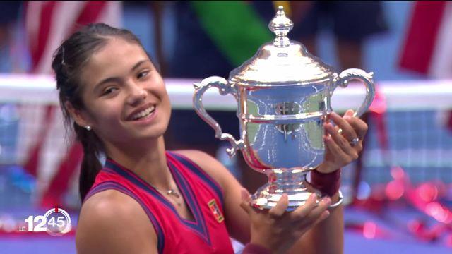 La victoire d'Emma Raducanu à l'US Open et les résultats de samedi hockey sur glace. La page sports avec Mathieu Germanier [RTS]