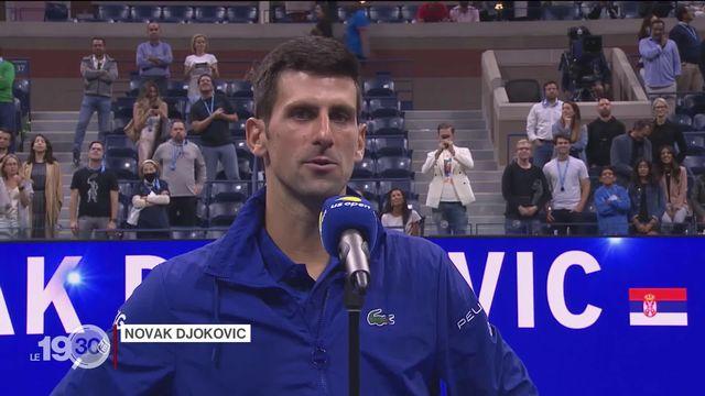Novak Djokovic jouera pour l'histoire dimanche. S'il s'impose, il détiendra le record de titres majeurs en Grand Chelem [RTS]