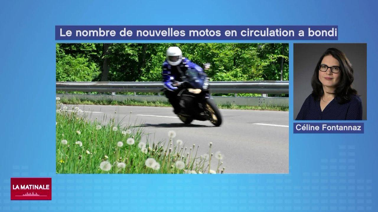 Le boom des motos et ses désagréments (vidéo) [RTS]