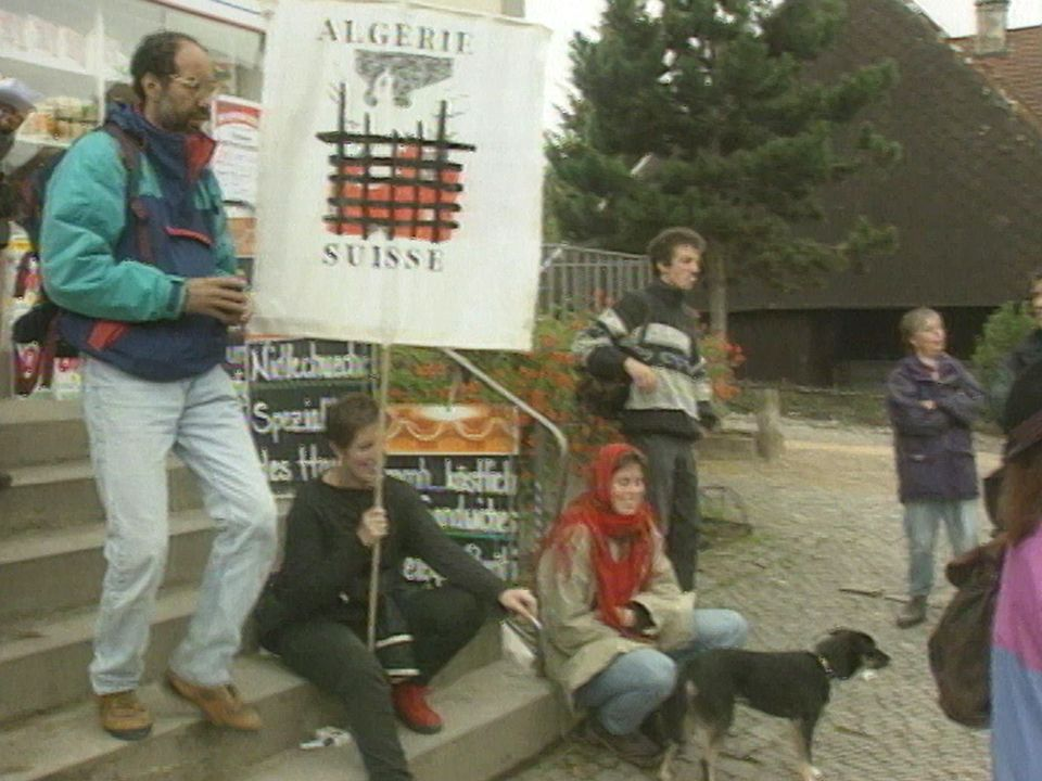 Marche pour la paix en Algérie [RTS]