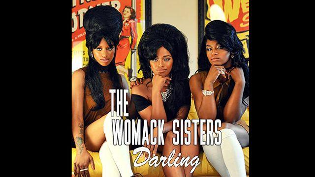 """La pochette de l'EP """"Darling"""" des Womack Sisters. [DR]"""
