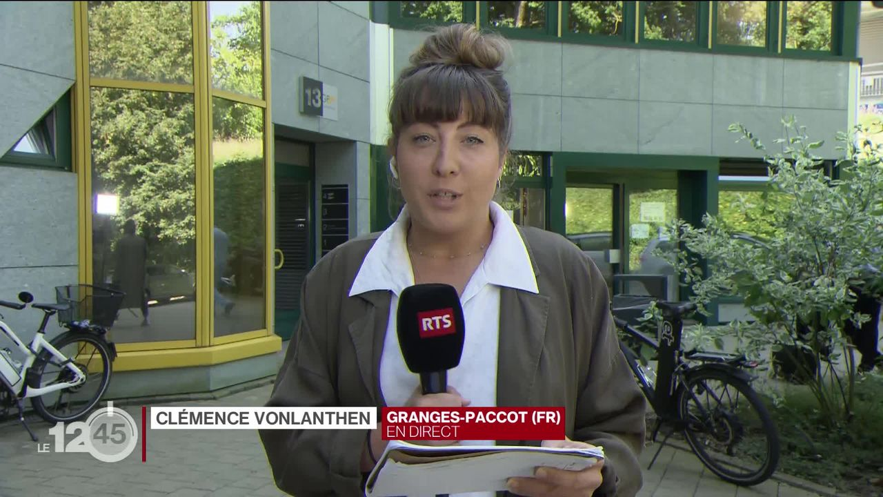 Ouverture du procès du meurtrier présumé de Samantha: l'éclairage de Clémence Vonlanthen [RTS]