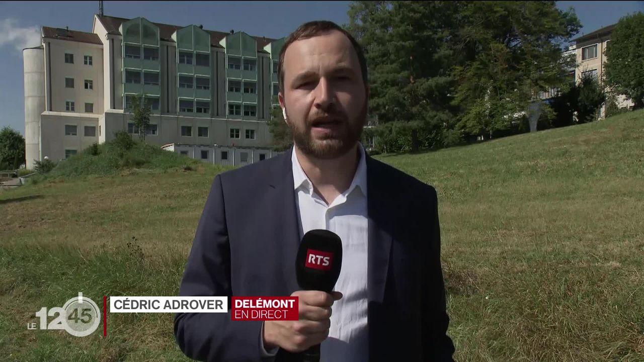 Un nouveau lieu pour accueillir les activités de l'Hôpital du Jura: les explications de Cédric Adrover [RTS]