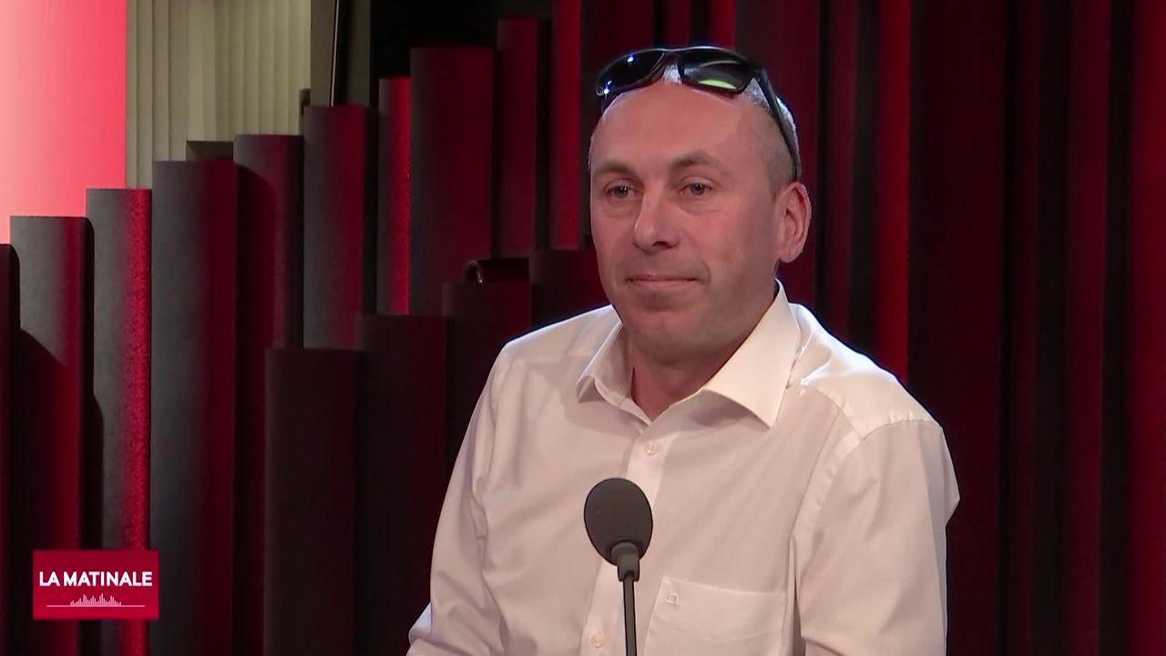 L'invité de La Matinale (vidéo) - Manfred Bühler, nouveau président de UDC Berne [RTS]