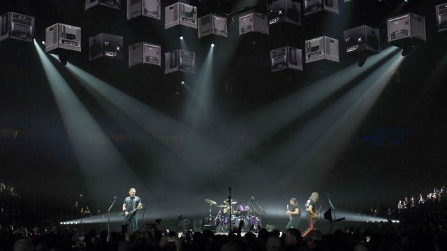 Le groupe américain Metallica, ici lors d'un concert à Nashville, le 24 janvier 2019. [Jason Kempin / GETTY IMAGES NORTH AMERICA  - AFP]