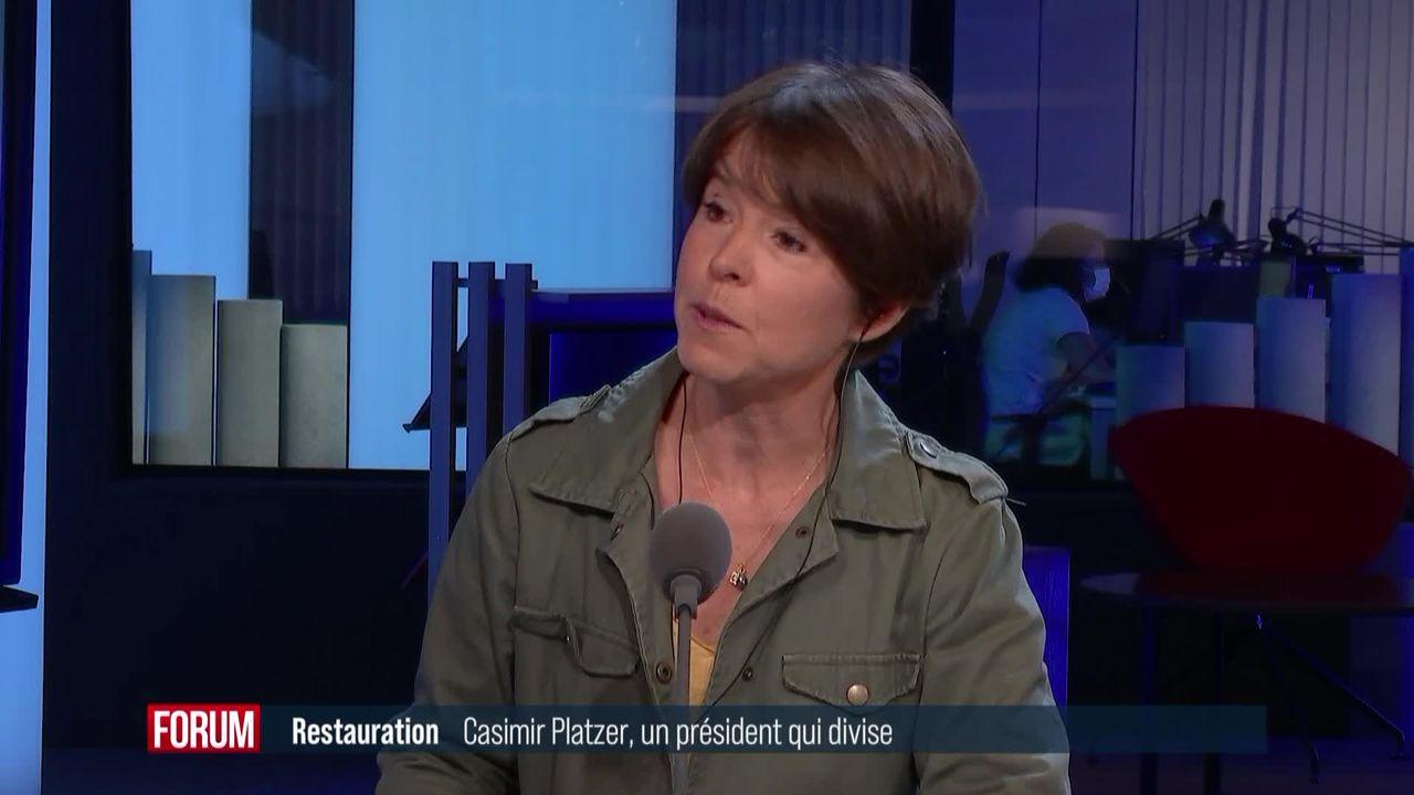 Controverses autour de Casimir Platzer, président de GastroSuisse [RTS]