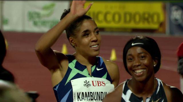 Bellinzone, 100m dames : très bon temps de M. Kambundji (SUI) 2e [RTS]