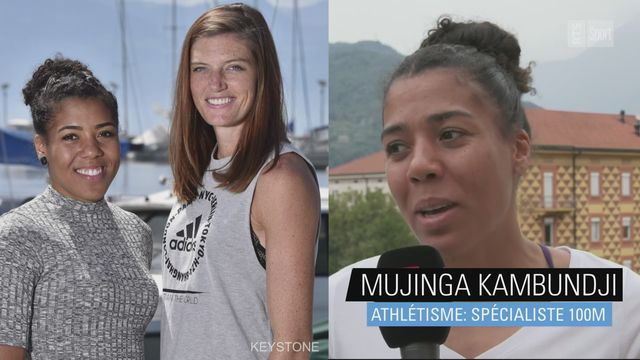 Athlétisme: Mujinga Kambundji rend hommage à Lea Sprunger [RTS]