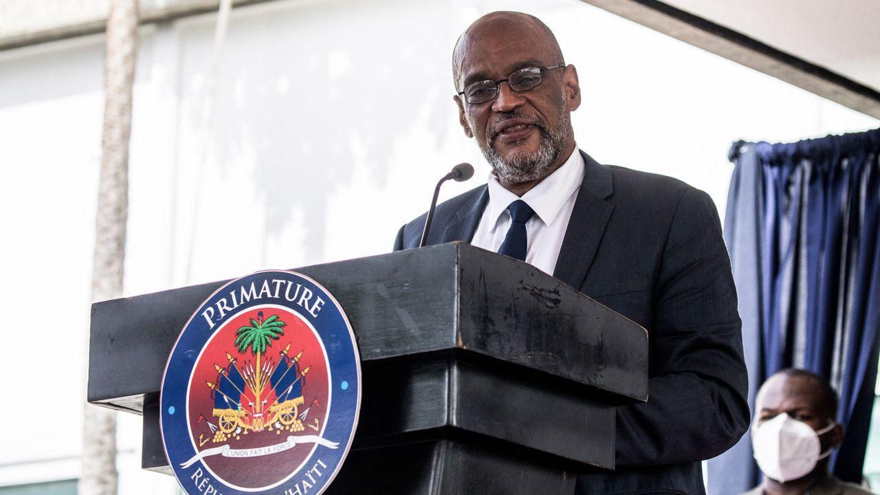 Le Premier ministre haïtien est soupçonné d'avoir participé à un complot ayant mené à l'assassinat du président Jovenel Moïse. [Valerie Baeriswyl - AFP]