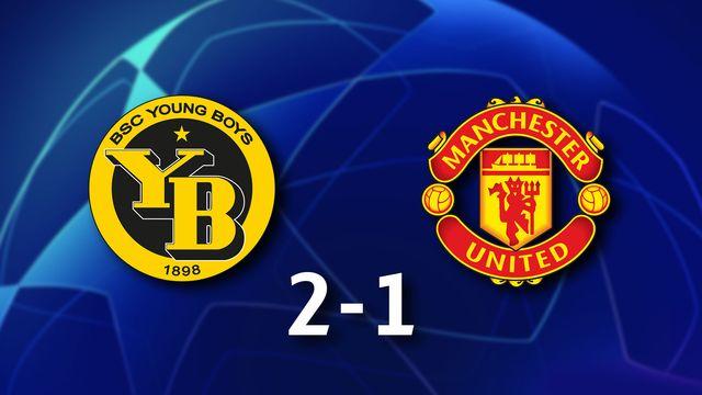 1ère journée Gr.F, Young Boys - Manchester Ud. (2-1): résumé de la rencontre