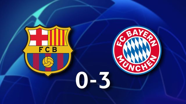 1ère journée Gr.E, Barcelone - Bayern Munich (0-3): le Bayern Munich écrase le Barça au Camp Nou