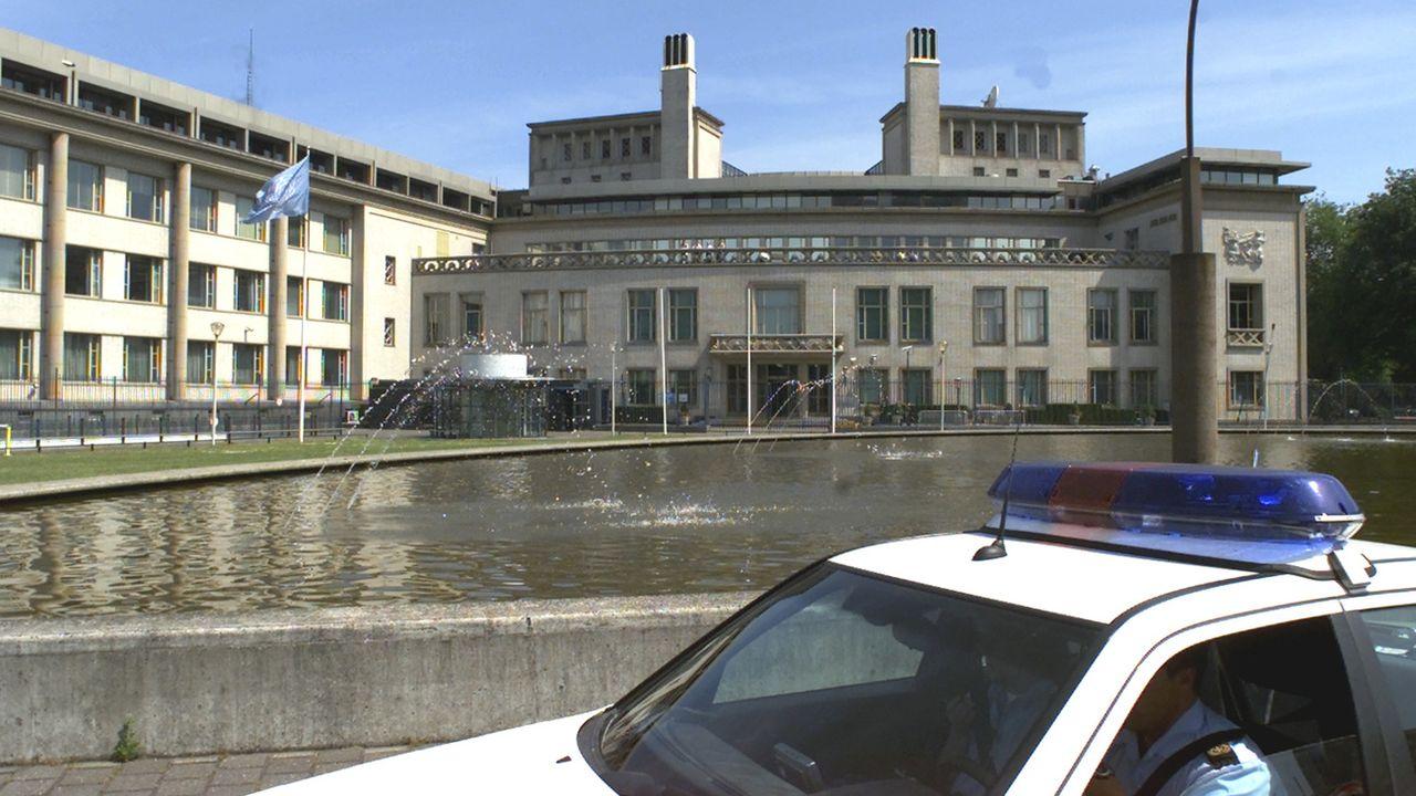 Un tribunal à La Haye. [AP Photo/Dusan Vranic - Keystone]