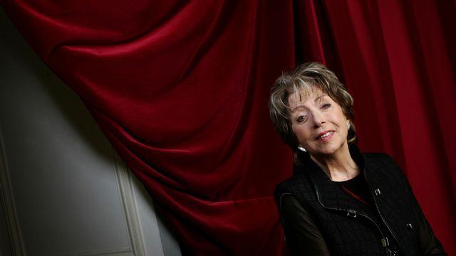 La comédienne Marthe Mercadié-Meyrat, dite Marthe Mercadier, morte le 15 septembre 2021. [JEAN-PIERRE MULLER / AFP - JEAN-PIERRE MULLER / AFP]