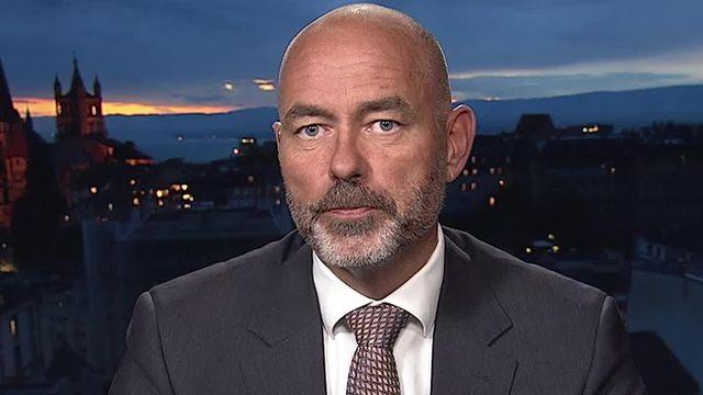 Christian Schwab, directeur du centre de nutrition de l'EPFL. [RTS]