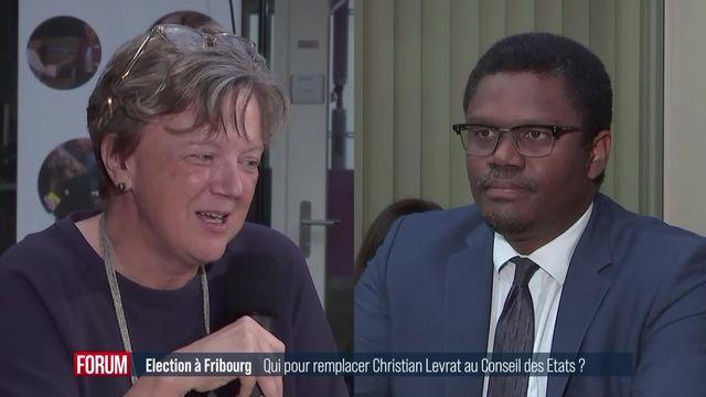 Le grand débat - Qui remplacera le Fribourgeois Christian Levrat au Conseil des Etats? [RTS]
