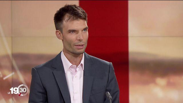 """Sylvain Weber """"C'est une tendance de fond de chercher du sens dans son travail"""" [RTS]"""