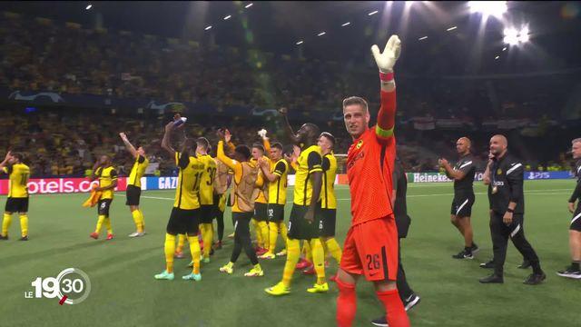 Young Boys brille en Ligue des Champions. Le club bernois s'est imposé face à Manchester United [RTS]