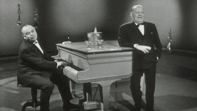 Gilles et Urfer en 1962. [RTS]