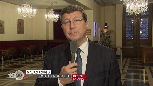 Gratuité des tests: le point sur la situation avec Mauro Poggia, conseiller d'État genevois en charge de la santé. [RTS]