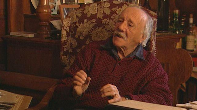 Rencontre avec l'écrivain suisse Maurice Chappaz. [RTS]