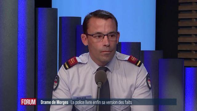 La famille de l'homme assassiné à Morges porte plainte: interview de Clément Leu [RTS]