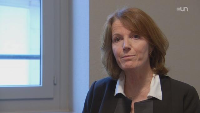 Marianne Aerni, conseillère stratégique auprès de la direction de la Haute Ecole de Gestion (GE). [RTS]