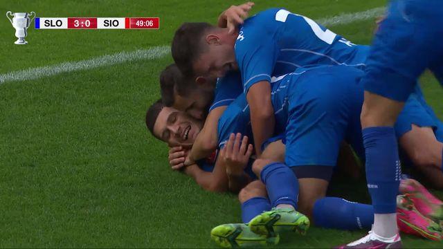 1-16, FC Stade Lausanne Ouchy – FC Sion (4-0) : le Vaudois humilient les Sédunois et se hissent en 8es [RTS]