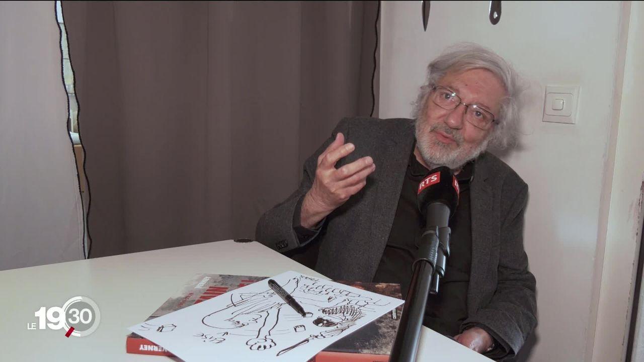 """Jacques Tardi, le """"père"""" d'Adèle Blanc-Sec, célèbre 50 ans de carrière au festival BDFIL de Lausanne [RTS]"""