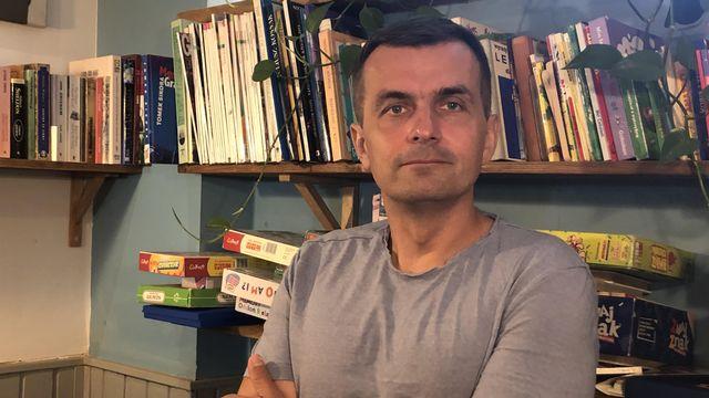 L'historien et sociologue polonais Adam Leszczynski [Gabrielle Desarzens - RTS Religion]