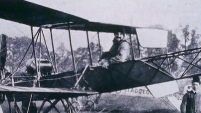 Les temps héroïques de l'aviation suisse [RTS]