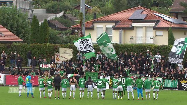 Football: Chênois - St-Gall (2-7) [RTS]