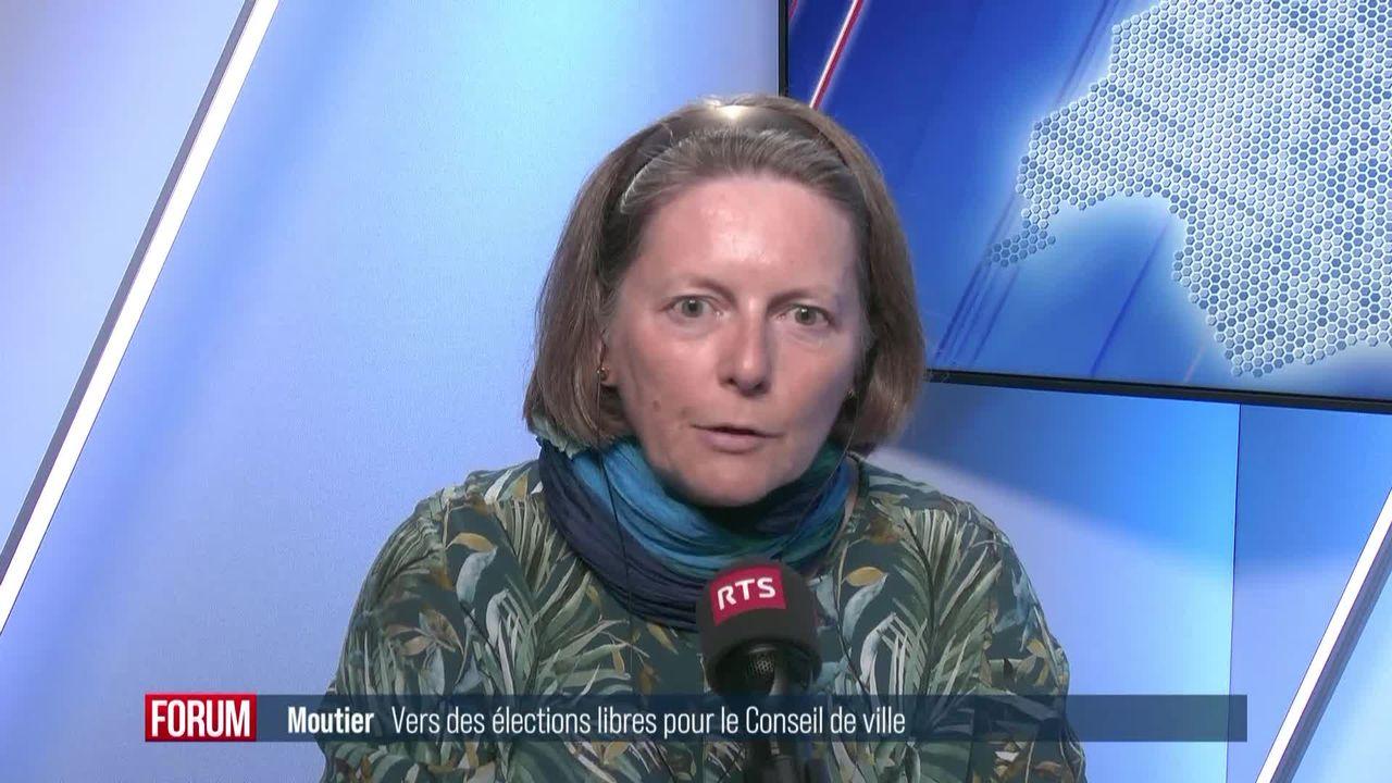 Moutier se dirige vers des élections libres afin de compenser le départ d'élus pro-bernois (vidéo) [RTS]