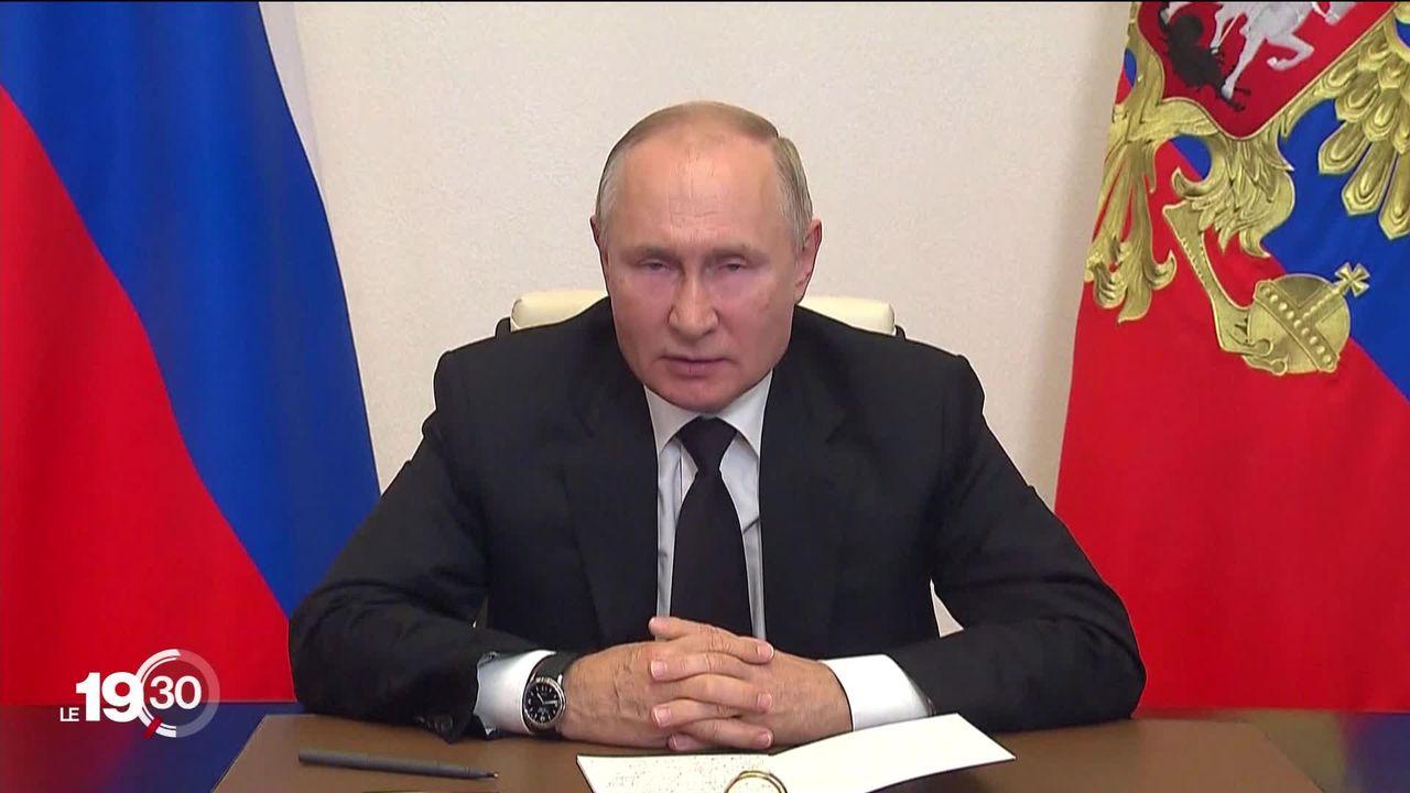 En Russie, le parti du Kremlin arrive en tête au terme d'un scrutin entaché de fraudes. [RTS]