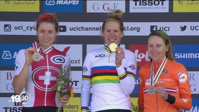 Marlen Reusser, la cycliste bernoise obtient une médaille d'argent mais elle rêvait de l'or pour ses 30 ans [RTS]