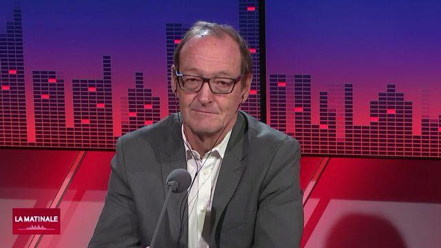 Pierre Ruetschi, directeur du Club Suisse de la Presse, évoque le caractère public de l'affaire Berset (vidéo) [RTS]