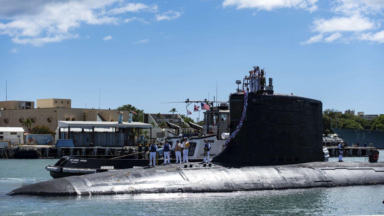 La rupture par l'Australie d'un énorme contrat de commande de sous-marins a provoqué la colère de la France. [Michael B. Zingaro - AP/Keystone]