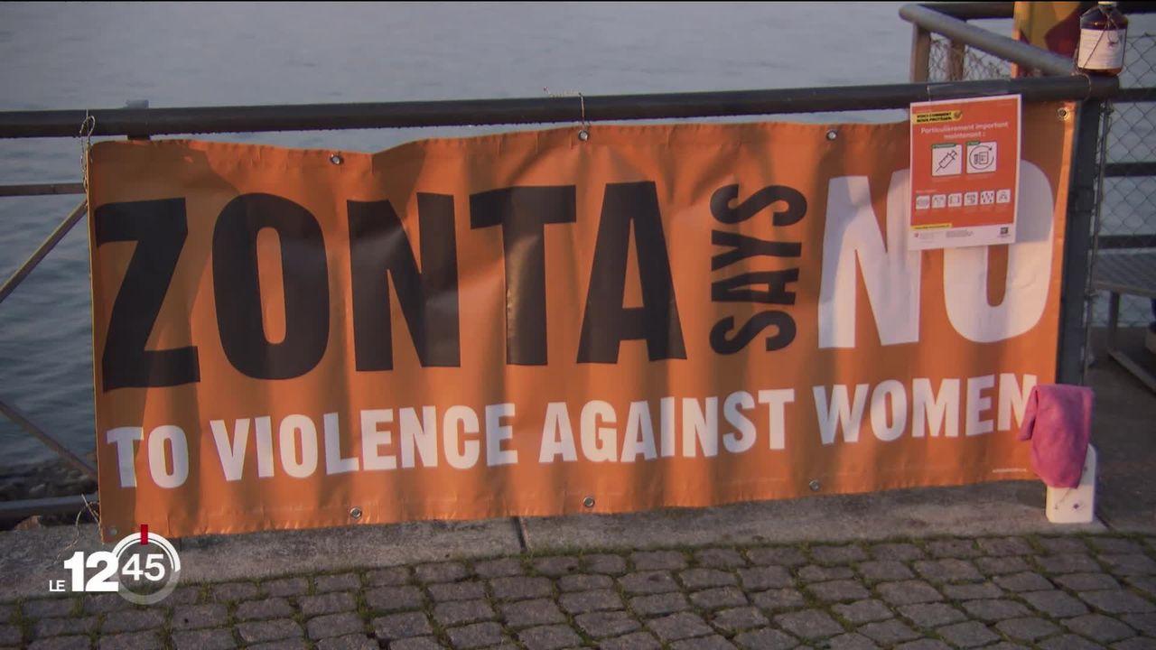 Le club-service Zonta Sainte-Croix Val-de-Travers organise une marche de Neuchâtel à Zermatt pour sensibiliser contre les violences faites aux femmes. [RTS]