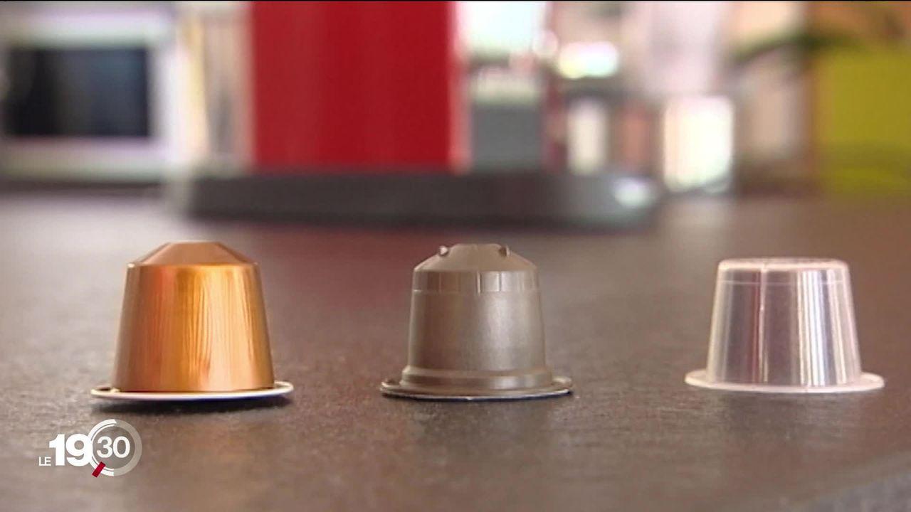 """Le Tribunal fédéral estime que Nestlé n'a pas de """"monopole universel"""" sur ses capsules de café [RTS]"""