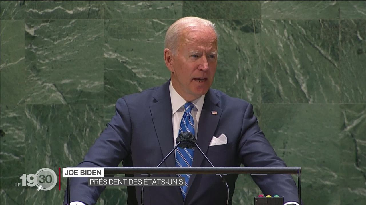 La 76e Assemblée générale de l'ONU s'est ouverte à New York, avec un discours de Joe Biden très attendu [RTS]