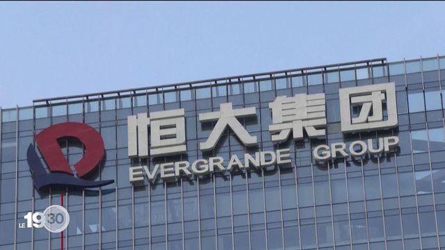 Un géant immobilier chinois est au bord de la faillite et des répercussions mondiales sont à craindre [RTS]